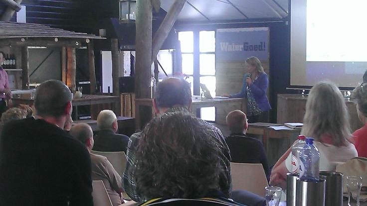 Karen Romme vertelde over Calimeromarketing en belichtte de online aanwezigheid van drie bezoekers van Next Event.