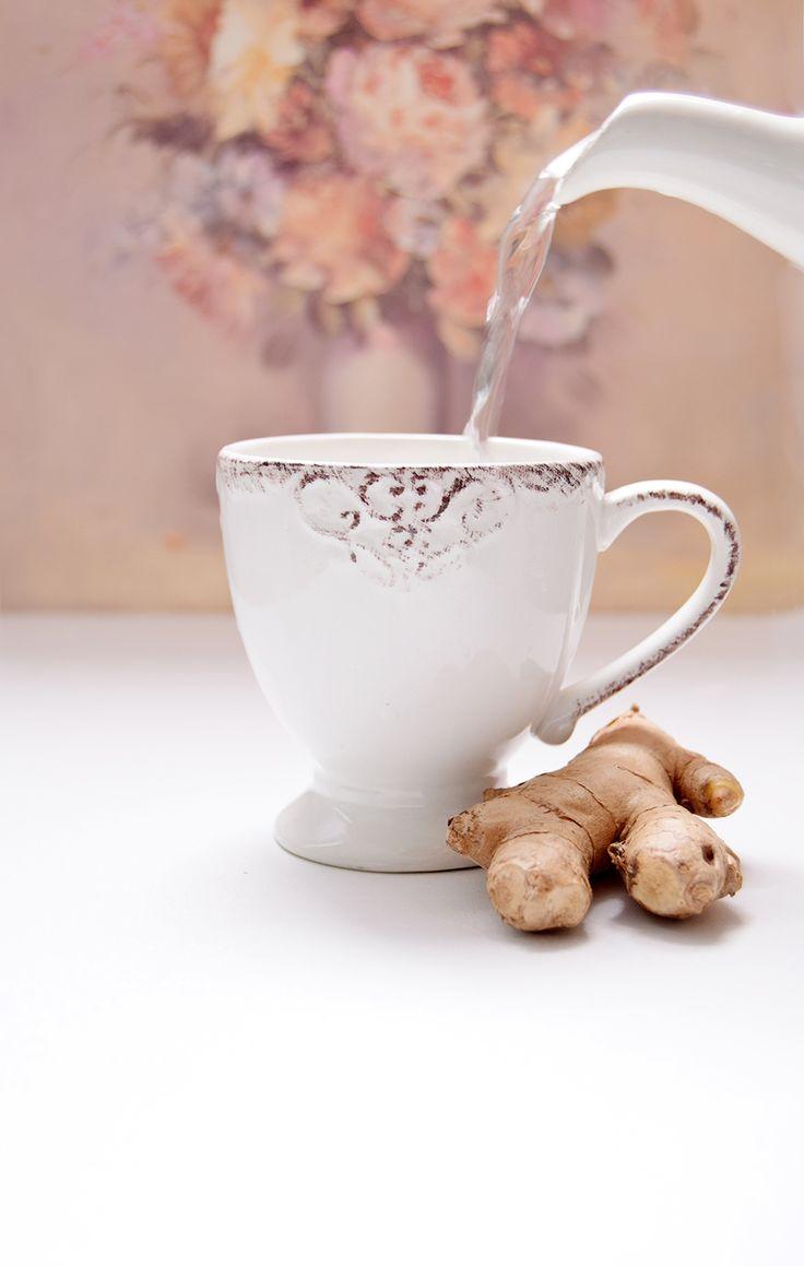 Hoe-maak-je-gember-thee