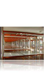 Apex Longspan Shelving system installed by Storage Design Limited