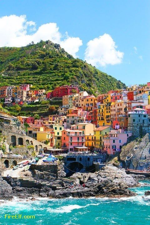 Seaside, Cinque Terre, Italy - Interesting Places to Visit - Top Vacation Travel Destinations