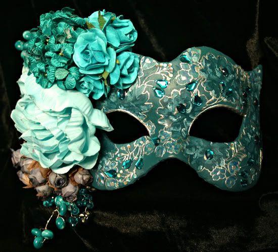 Elegant Masquerade Masks for Prom | Posts | Midnight Masquerade | MASK ART BY KATRINA PALLON