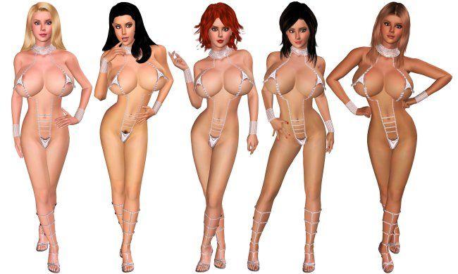 summer lovers nude girl