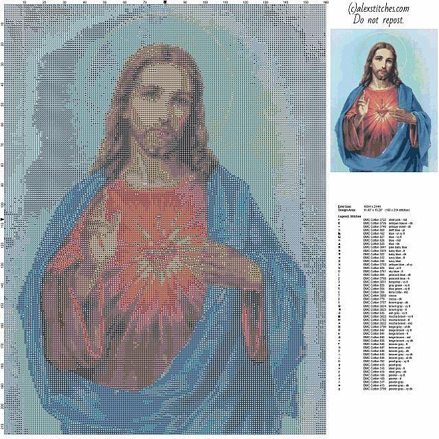Jesús de Nazaret Jesús Cristo con puntada aureola religiosa libre cruz