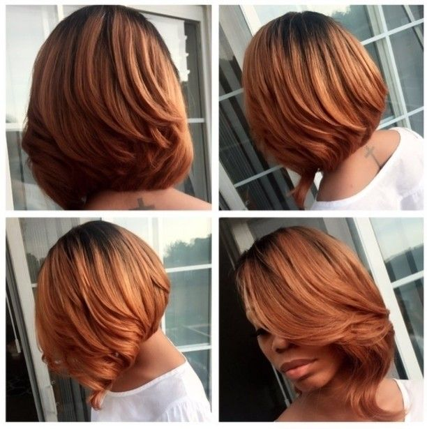 This bob and with custom color is so pretty by Indianapolis stylist @millyraihair ❤✂ #tbt #voiceofhair voiceofhair.com