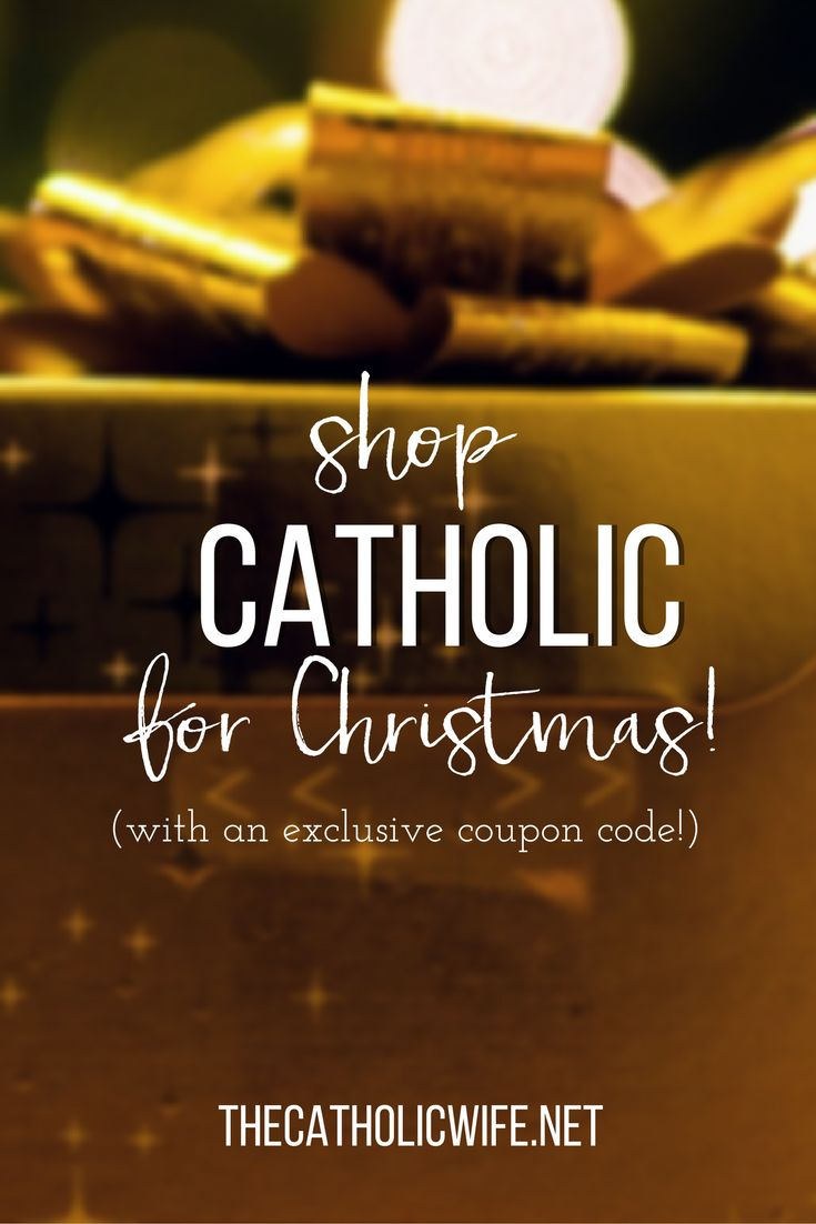 One coupon code and a BUNCH of AMAZING Catholic retailers offering a discount just for readers of The Catholic Wife. | Katie Sciba @ The Catholic Wife