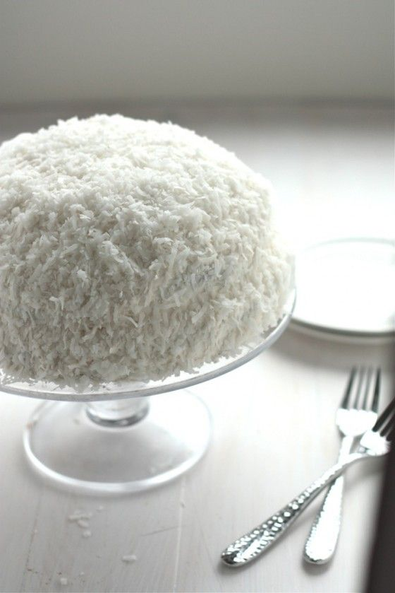 Snowball Cake  .Yummy Recipe from scratch.  My favorite cupcakes were Hostess Snowballs. I have missed them.