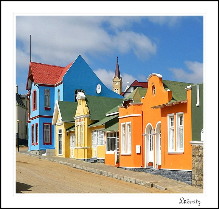 The colours of Namibia - Luderitz, Karas - Namibia