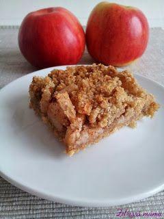 Zdravá máma: Jablečný koláč z mandlové mouky