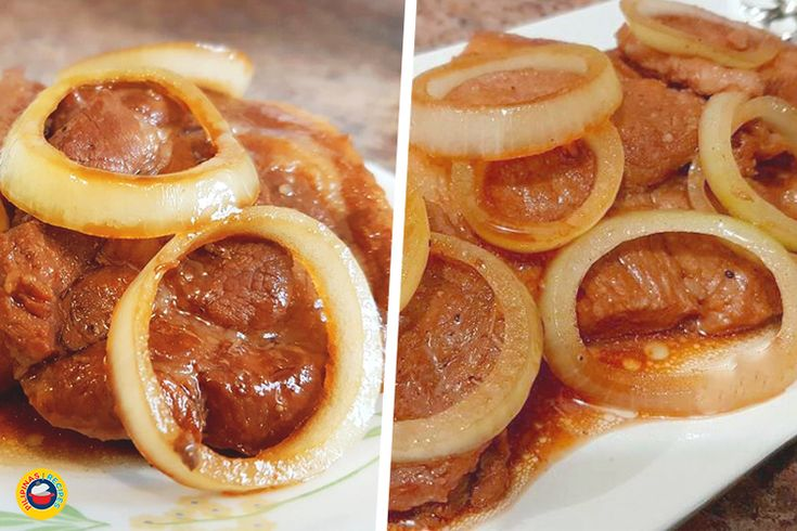 In the Philippines, one of the most common ways to cook the Pork Steak Recipe is to put soy sauce, Kalamansi Juice and marinate for an hour.