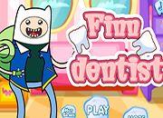 Finn en el dentista | juegos adventure time - hora de aventura