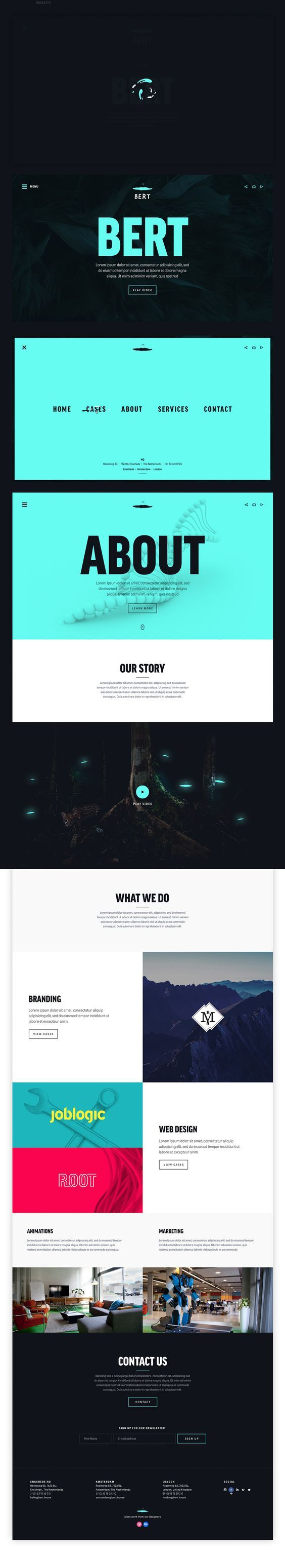 Exceptionnel Best 25+ Ui website ideas on Pinterest | Website web, D web and  KE37