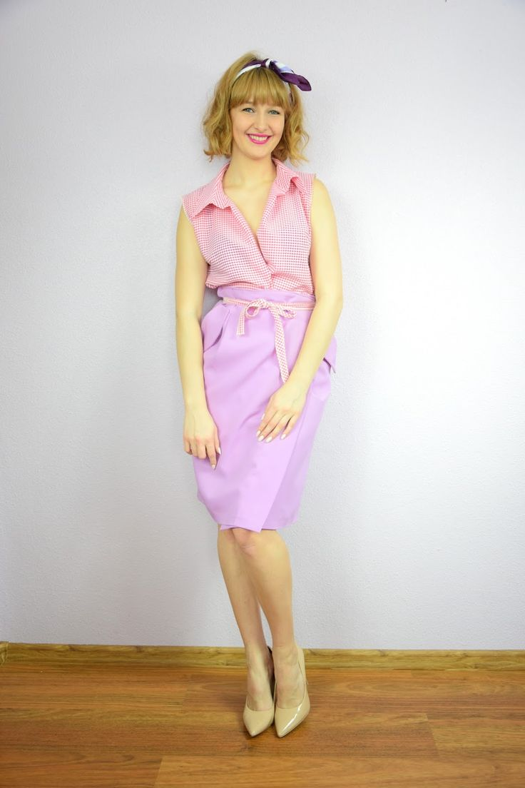 Haligashka: Liliowa spódnica