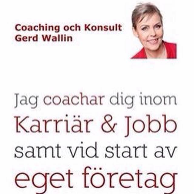 Jobbsökargrupp med Gerd Wallin – Stockholm 2016-02-04 - Stockholm  Gerd Wallin, certifierad coach, bjuder in till jobbsökargruppen för personer som söker arbete eller vill byta karriär.