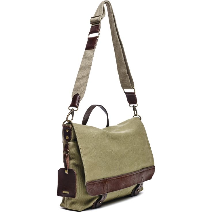 Smithy Messenger, Olive - Hayden-Harnett Handbags & Accessories Online Store