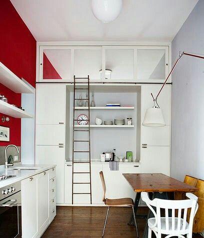 Die besten 25+ Deckenleiter Ideen auf Pinterest Leiterregal für - küche einzeln zusammenstellen