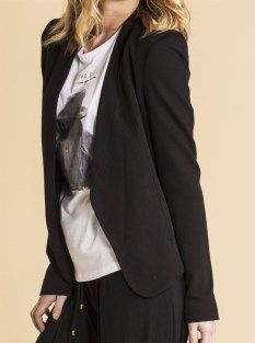 Living Doll classic blazer in black $79.95 available at www.threadsandstyle.com.au. Every woman needs a classic black blazer. It looks great teamed with denim cut offs & a tank, to a printed tee & skinny leg pants to over a shift dress for work.