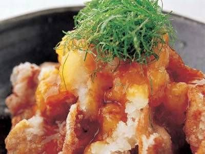 レシピ画像(1247) |元のページ: 加藤 奈弥 さんの豚ロース肉を使った「豚肉のしょうがおろしあんかけ」。消化を助けるしょうが、大根おろしと体の乾きを潤す豚肉を組み合わせてさっぱりといただきます。 NHK「きょうの料理」で放送された料理レシピや献立が満載。