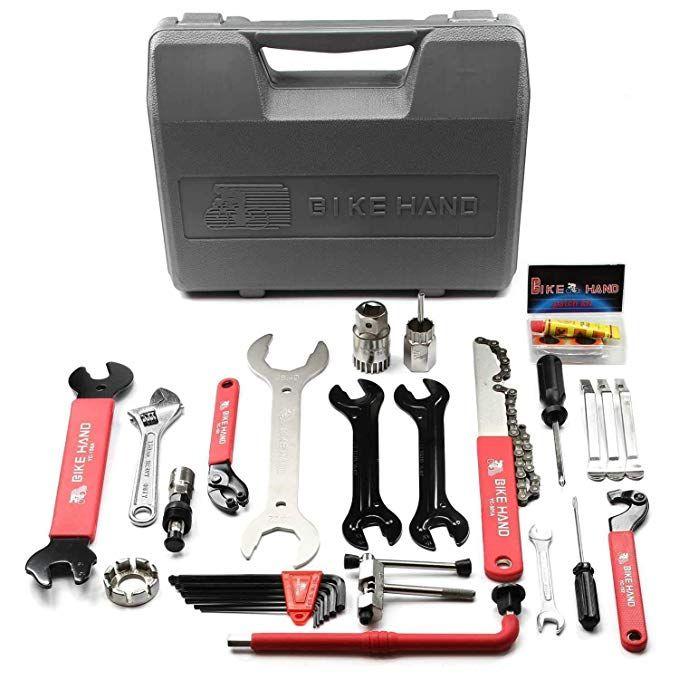 Bikehand Bike Bicycle Repair Tools Tool Kit Set Review Bicycle