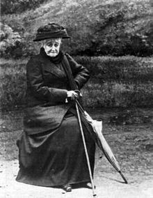 L'impératrice Eugénie en 1920