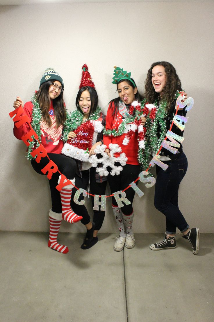 Roommate Christmas Pictures!