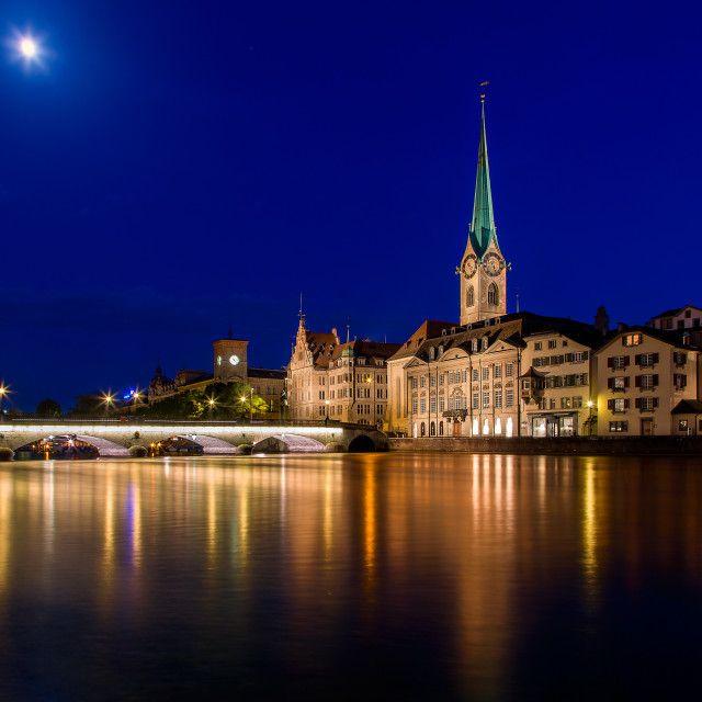 """Night Zurich"" by Alexander Novikov - $6.59"