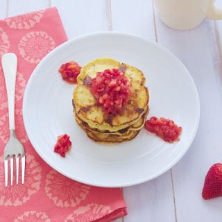 Simply Healthy Family: Cottage Cheese Pancakes {gluten free}