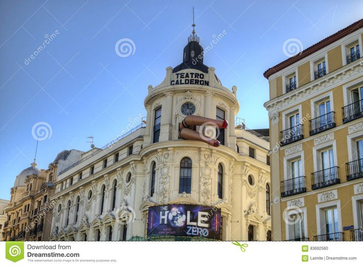 Image result for teatro calderon madrid