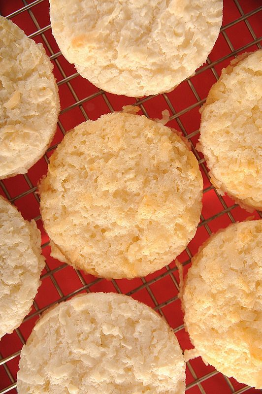Shortcut Coconut Almond Macaroon Recipe - definitely our next baking project! I have one last angel food cake mix in the pantry, coconut in the freezer and almonds! It was meant to be!