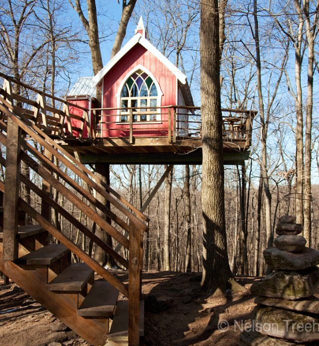 sorry kids this beautiful treehouse is designed for awesome adults only sleepovers