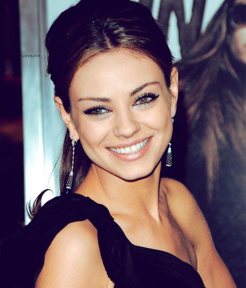 mila kunis -She always looks fresh &classy! She always reminds me of my BFF @Heather Sullivan