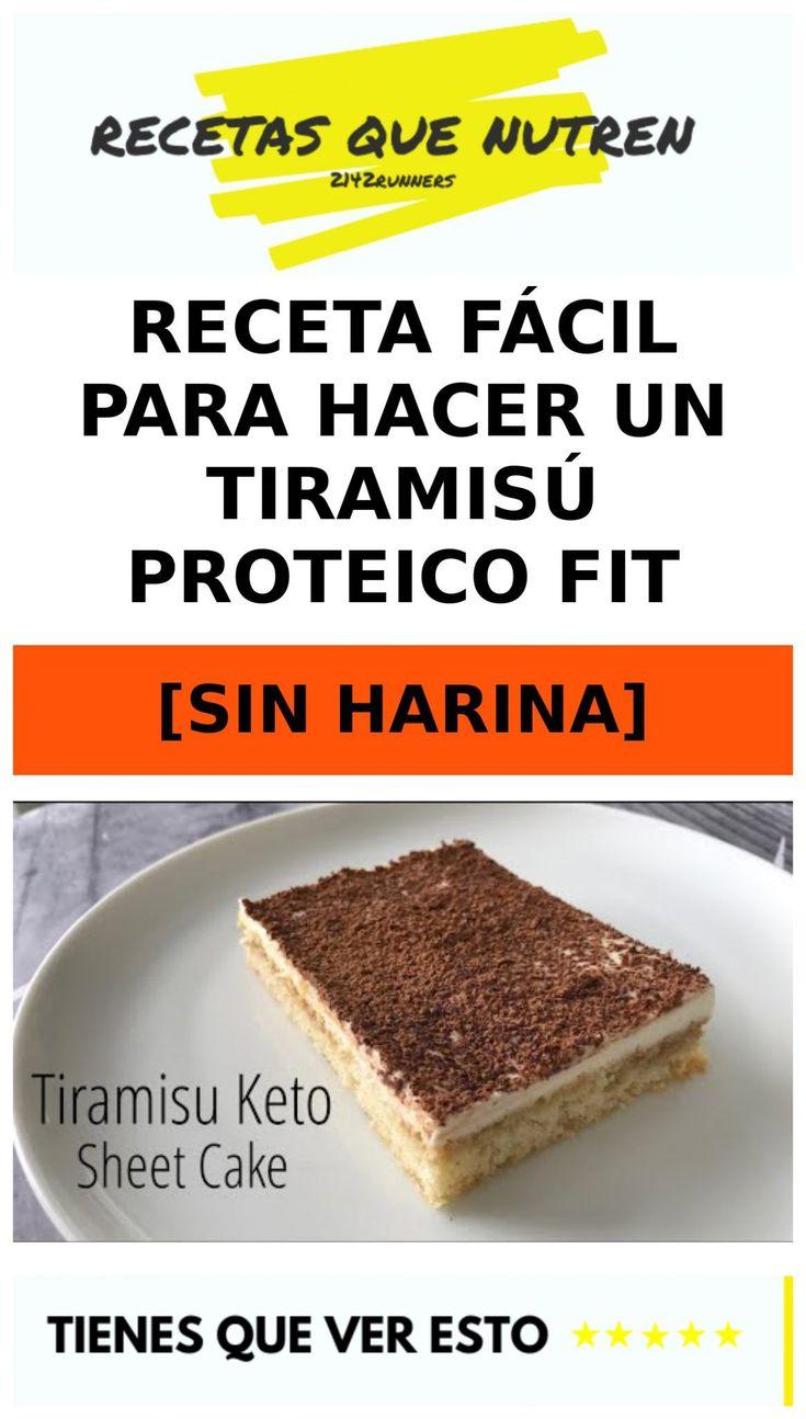 Receta fácil para hacer un TIRAMISÚ proteico fit [SIN HARINA] 1 Dessert Recipes, Desserts, Cornbread, Tiramisu, Banana Bread, Keto, Healthy Recipes, Vegan, Ethnic Recipes