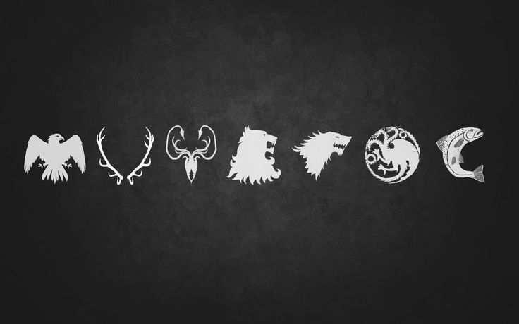 Game of Thrones Wallpaper: Seven Noble Houses by McNealy.deviantart.com on @deviantART