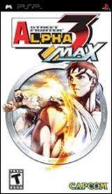 Street Fighter Alpha 3 Max - PSP Game