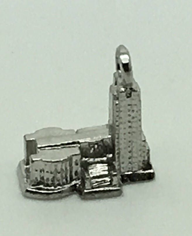 North Dakota State Capitol Bismarck Sterling Silver Charm Bracelet Charm Souvenir Travel Memorabilia by Fraservalleyjewels on Etsy