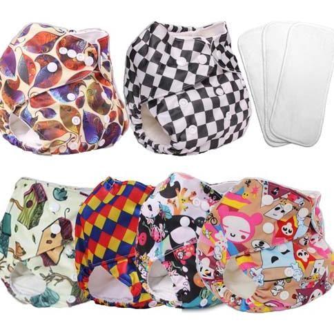 plain cloth diapers