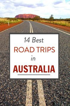 14 best road trips in Australia for your bucket list by @ytravelblog.