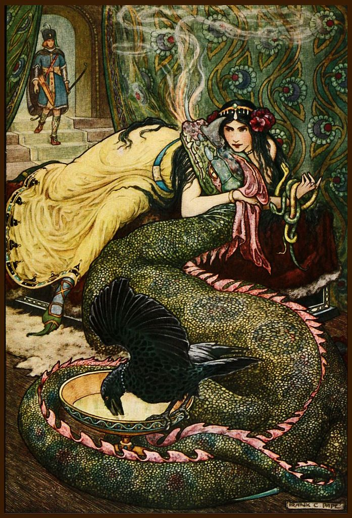It reminded me of an opium den, but for dragons. #dragon #vintage #opium den