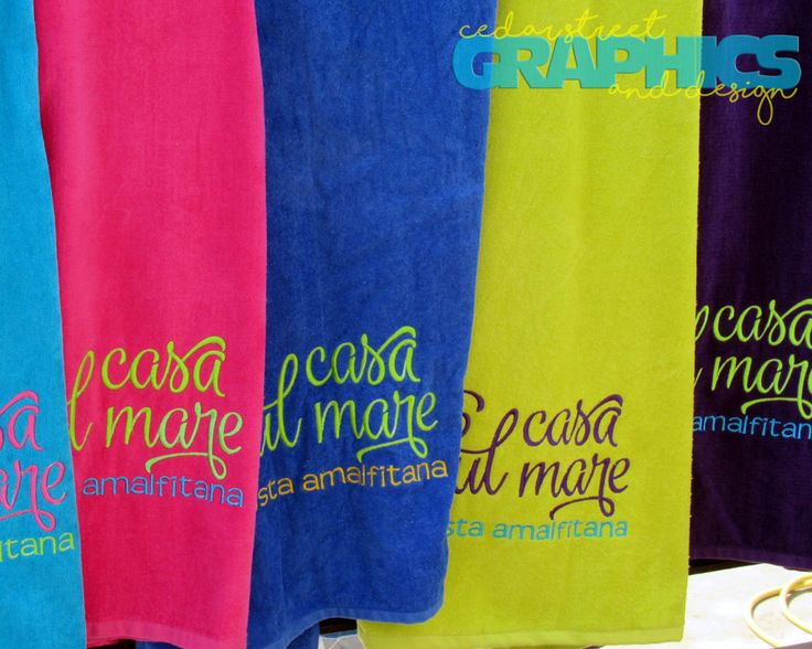 Personalized Beach towel - TOTALLY CUSTOM Beach Towel - Embroidered Beach Towel - Bridesmaid Gift - Family Reunion - Vacation towel by CedarStreetGraphics on Etsy