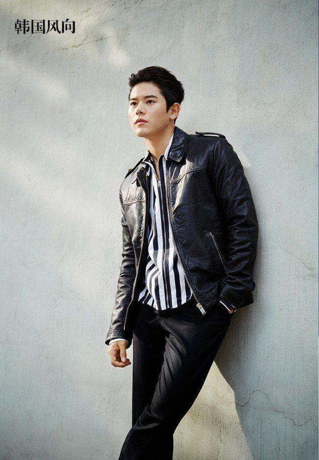 ZE:A's Dongjun lands the cover of China's 'Korea Wind Direction'   allkpop.com