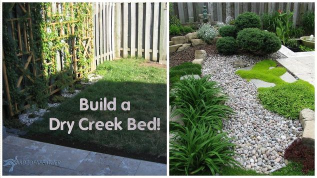 baixa manutenção de jardinagem parte 1 seco leito do riacho, jardinagem, como, paisagem, vida ao ar livre