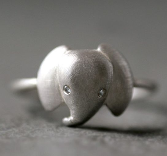so cuteFashion, Elephant Rings, Style, Baby Elephants, Clothing, Sterling Silver, Jewelry, Accessories, Michelle Change