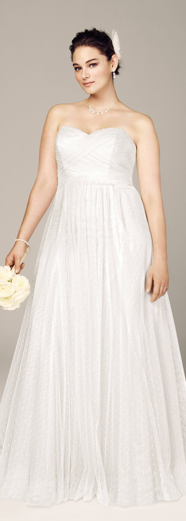 Cute Sweetheart Wedding Dress From David S Bridal Read