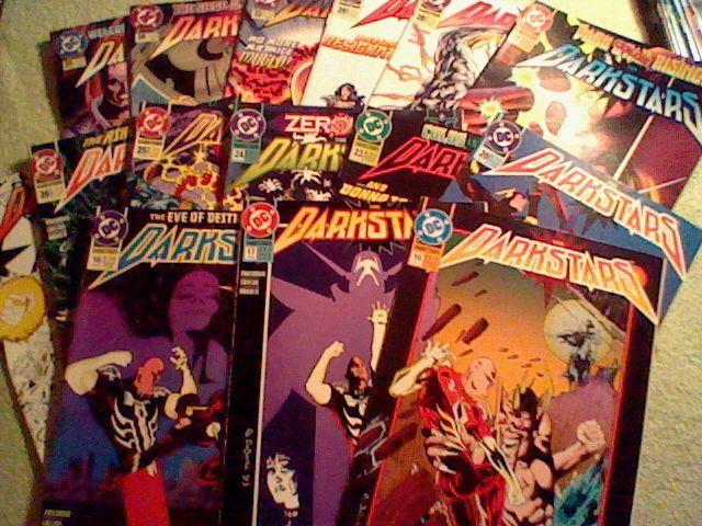 Darkstars 15 DC cosmic comic lot,Deodato Jr covers,Donna Troy(Teen Titans)
