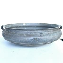 Urli's, solid bronze bowl used in the temples to float lotus flowers in