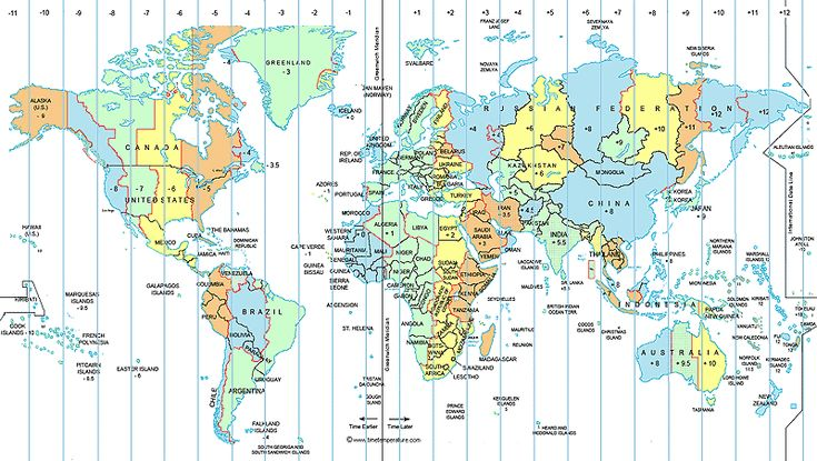 25+ Best Ideas About Time Zones On Pinterest