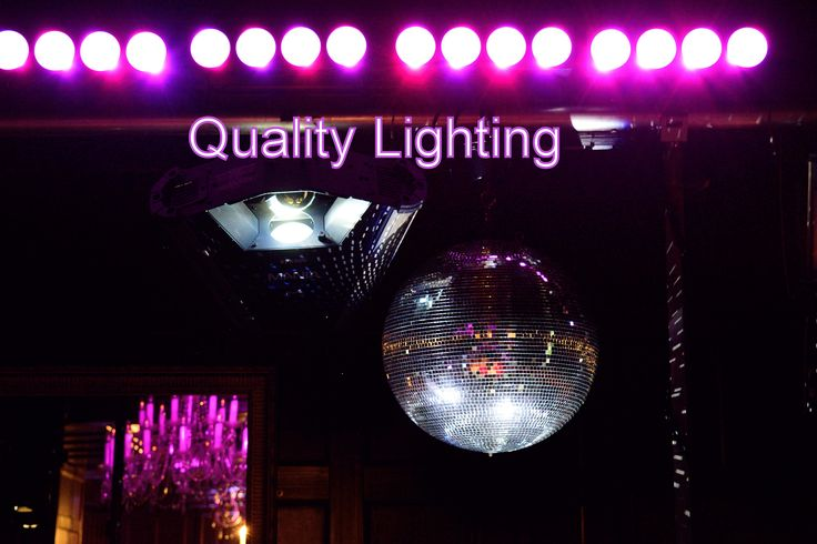 The Mirror Ball is a timeless effect and adds a touch of style and class to any wedding - DJ Martin Lake