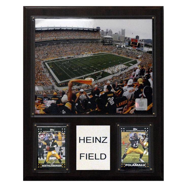 NFL 12 x 15 in. Heinz Field Stadium Plaque - 1215HEINZ