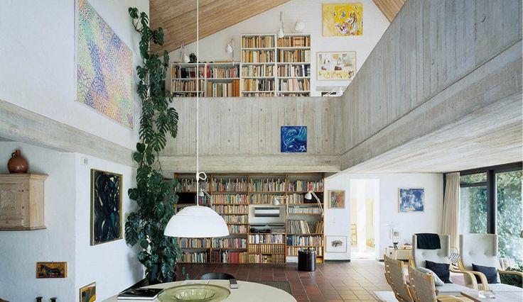 Se arkitektens private bolig på skrænten i Århus bugt - billede 1