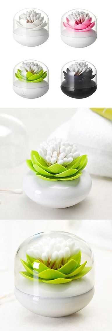 Lotus cotton bud swab holder #product_design