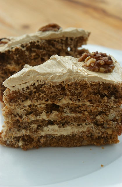 Coffee And Walnut Cake. Going Nuts For Dessert... (1) From: Poiresau ...